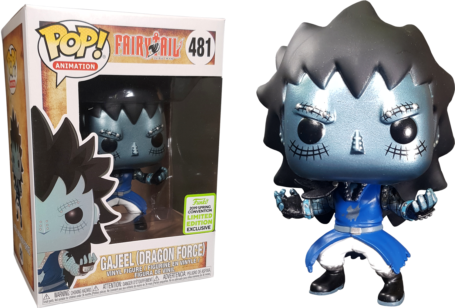 Fairy Tail - Gajeel with Dragon's Scale Pop! Vinyl Figure (2019 Spring Convention Exclusive)