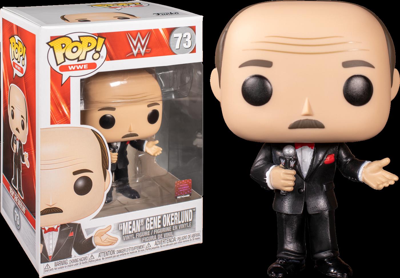 WWE - Mean Gene Pop! Vinyl