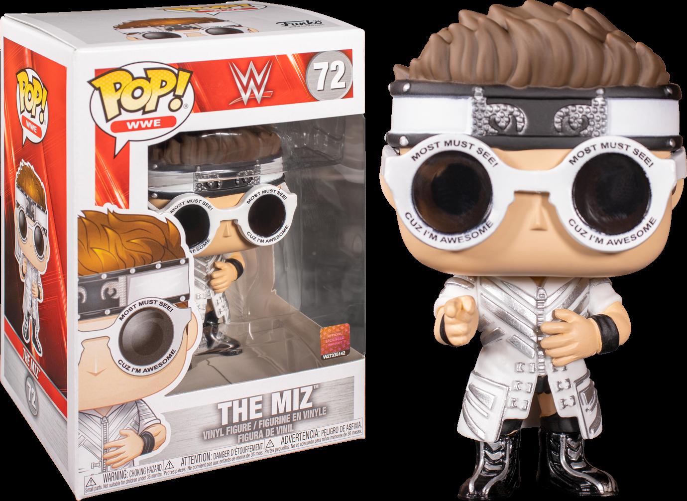 WWE - The Miz Pop! Vinyl