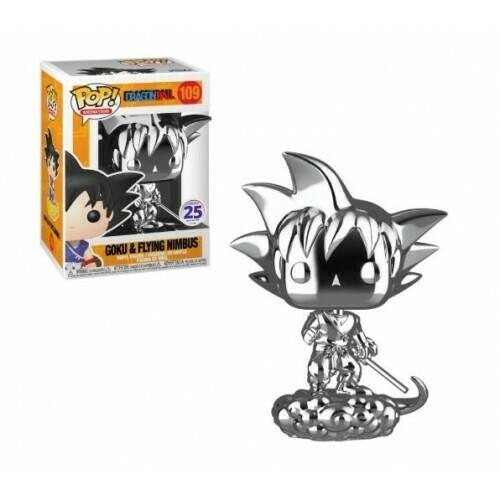Dragon Ball Z - Chrome Goku and Flying Nimbus Pop! Vinyl Figure