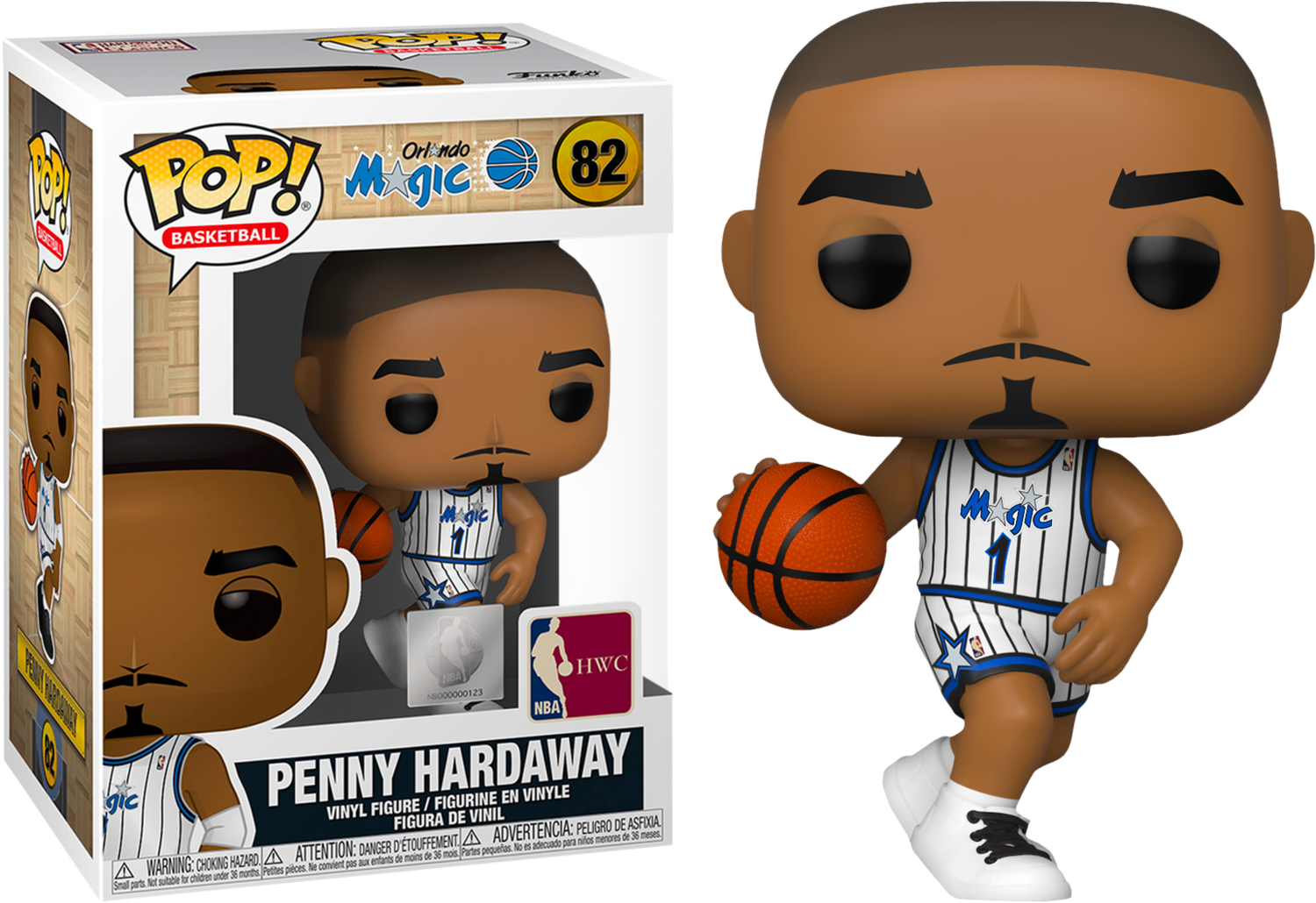 NBA Basketball - All Star Legends: Penny Hardaway Orlando Magic Pop! Vinyl Figure
