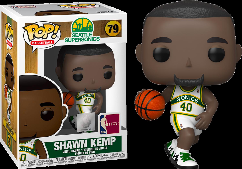 NBA Basketball - All Star Legends: Shawn Kemp Seattle Supersonics Pop! Vinyl Figure