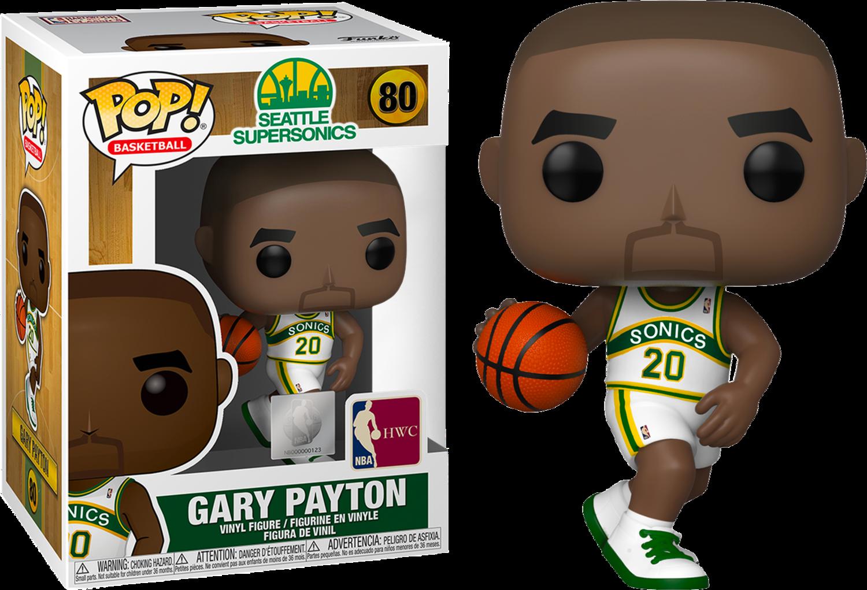 NBA Basketball - All Star Legends: Gary Payton Seattle Supersonics Pop! Vinyl Figure
