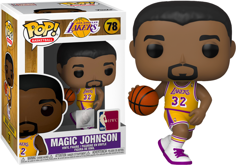 NBA Basketball - All Star Legends: Magic Johnson L.A. Lakers Pop! Vinyl Figure