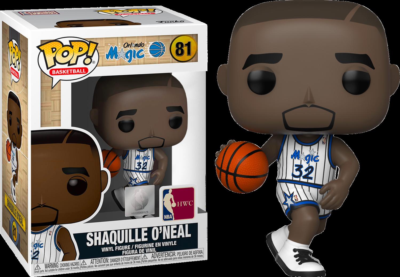 NBA Basketball - All Star Legends: Shaquille O'Neal Orlando Magic Pop! Vinyl Figure