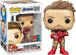 Avengers 4: Endgame - Iron Man with Nano Gauntlet NYCC 2019 US Exclusive Pop! Vinyl [RS]