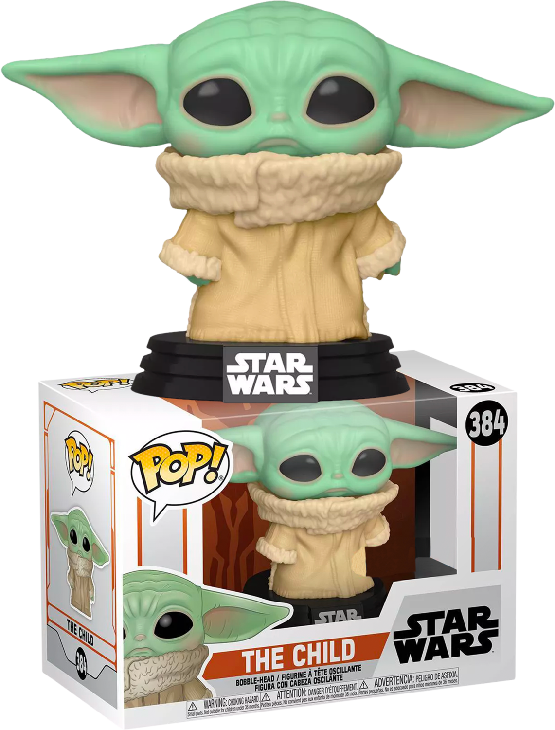Star Wars: The Mandalorian - The Child (Baby Yoda) Concerned Pop! Vinyl Figure