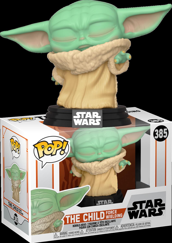 Star Wars: The Mandalorian - The Child (Baby Yoda) Force Wielding Pop! Vinyl Figure