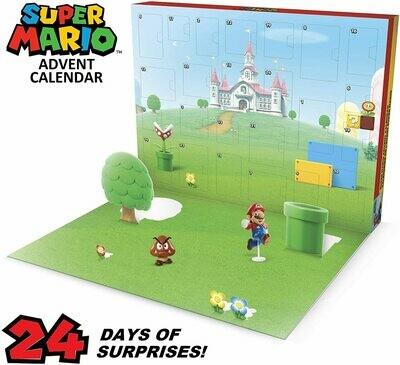 Nintendo Advent Calendar Super Mario Christmas Holiday Calendar