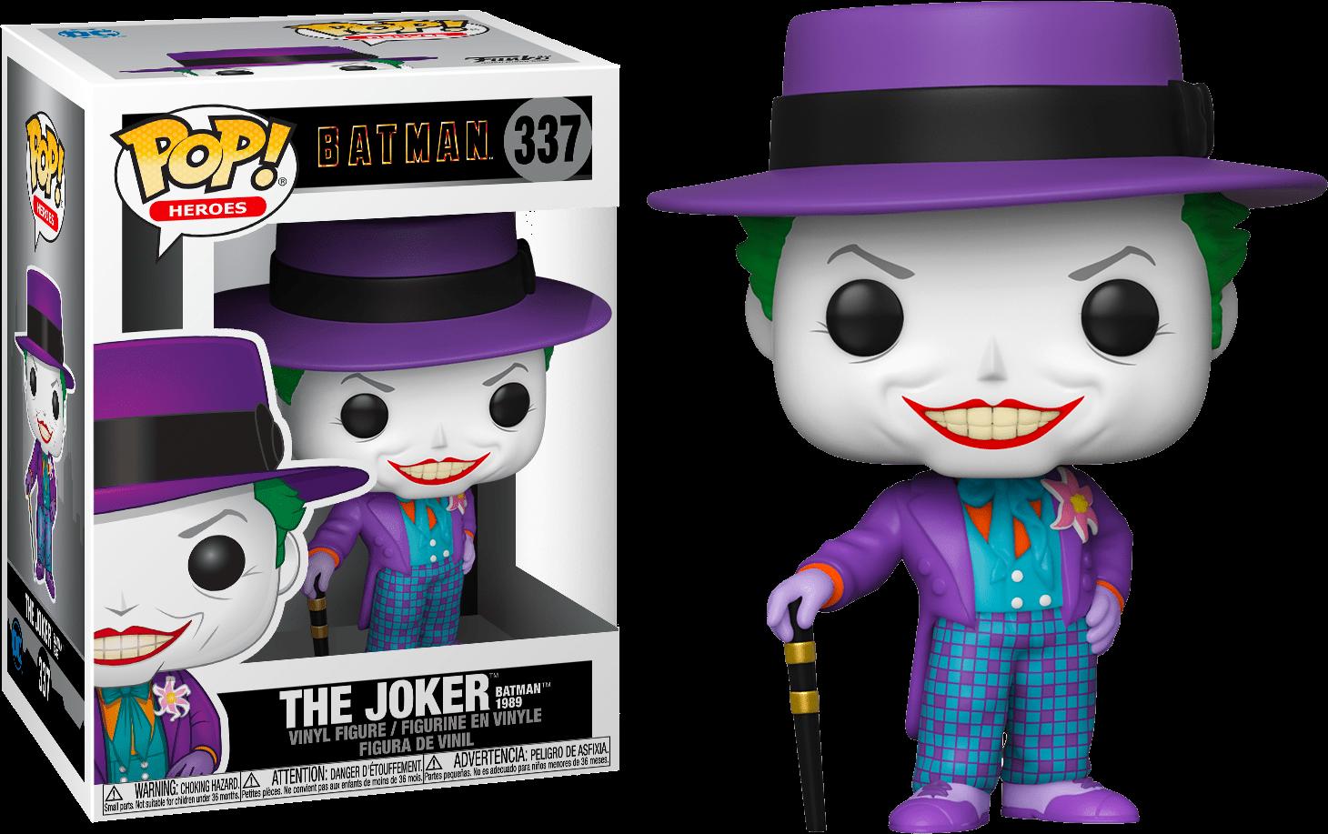 Batman (1989) - The Joker with Hat Pop! Vinyl Figure