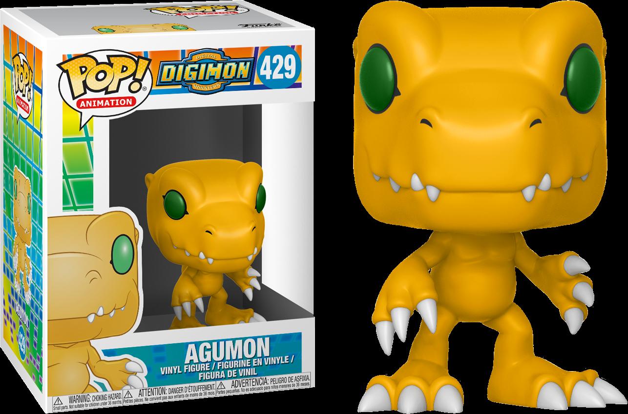 Digimon - Agumon Pop! Vinyl Figure (NFR)