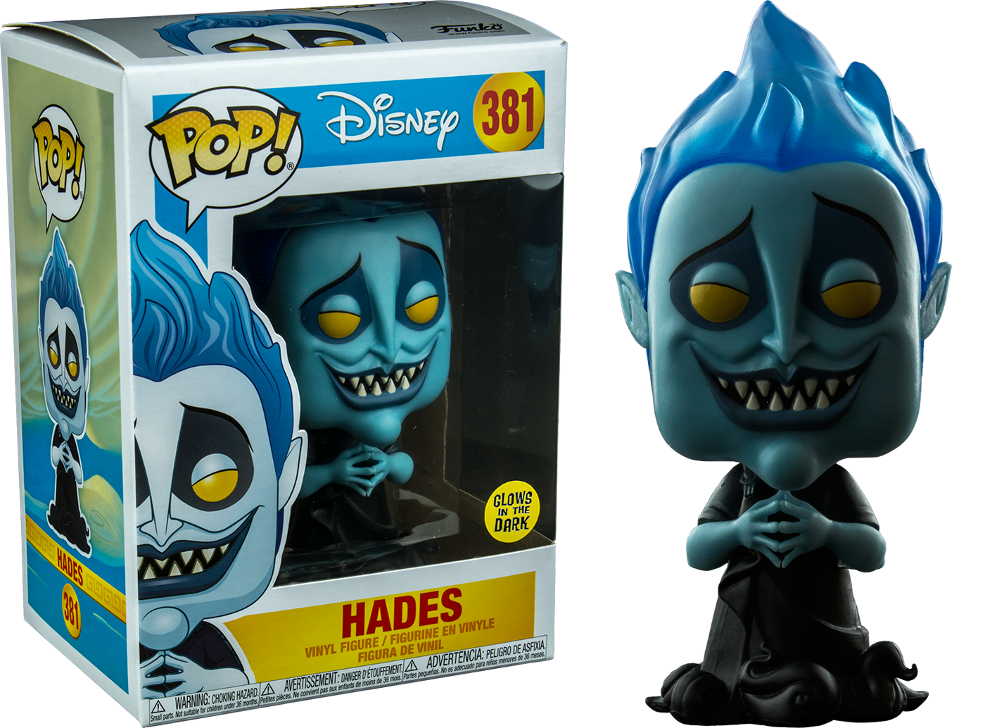 Hercules - Hades Glow in the Dark Pop! Vinyl Figure (NFR)