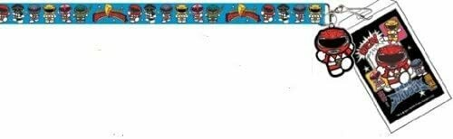 Mighty Morphin Power Rangers Lanyard- Red Ranger