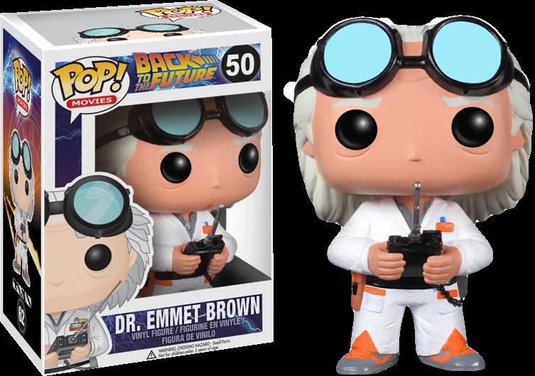 Dr. Emmet Brownin Pop! Vinyl form!