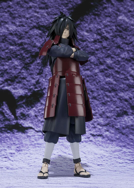 """Bandai Tamashii Nations S.H. Figuarts Madara Uchiha """"Naruto"""" Action Figure"""