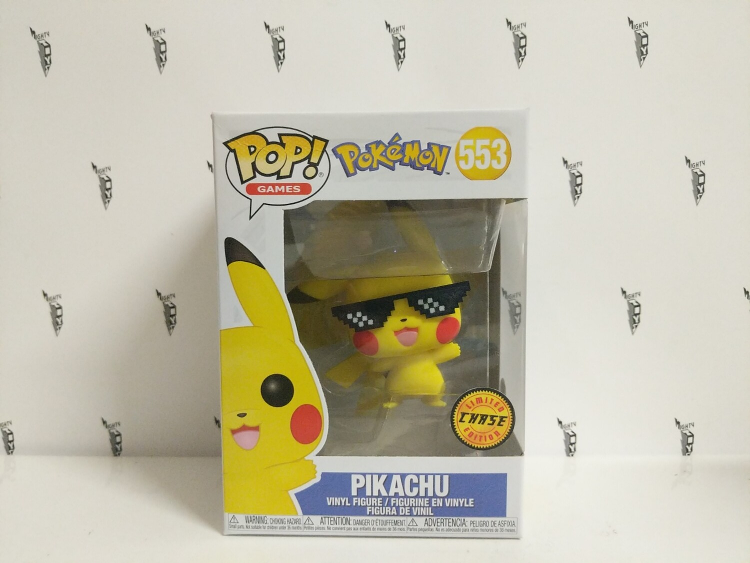 Pokemon - Thug Life Pikachu Pop! Vinyl