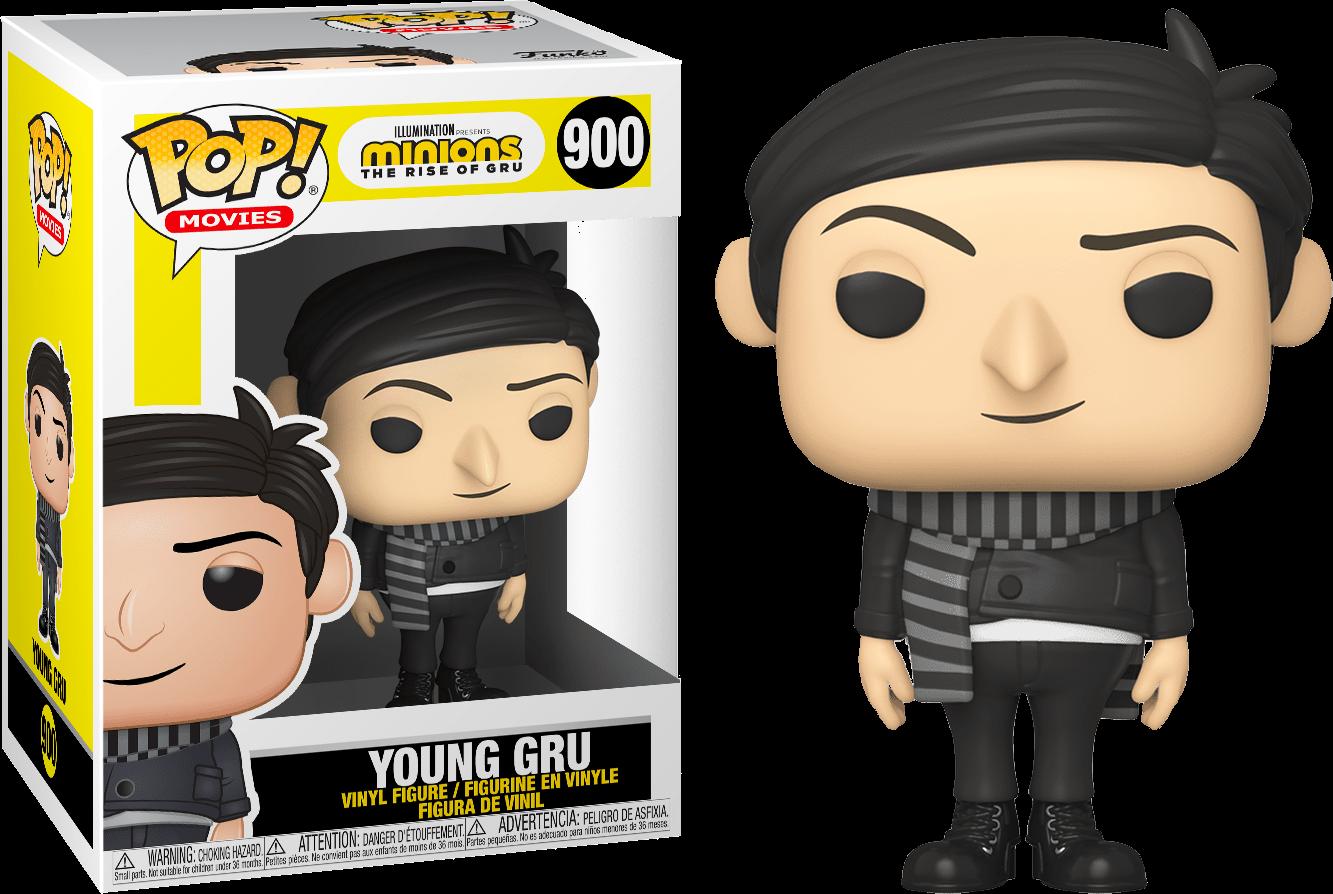 Minions 2: The Rise Of Gru - Young Gru Pop! Vinyl Figure