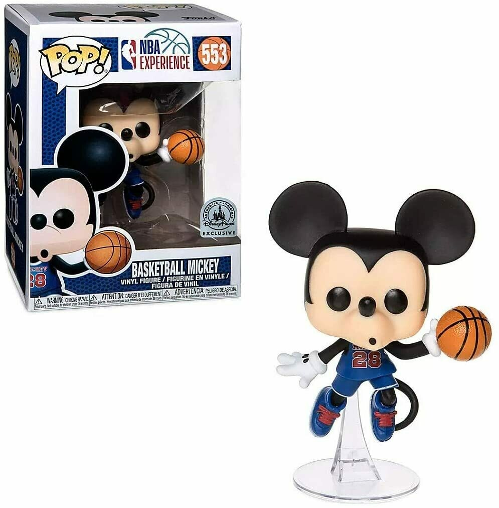 NBA - Mickey Mouse Basketball Pop Vinyl