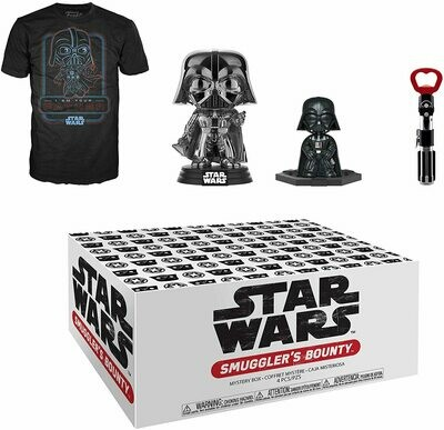Funko Star Wars Smuggler's Bounty Box, Darth Vader Theme, Small T-Shirt