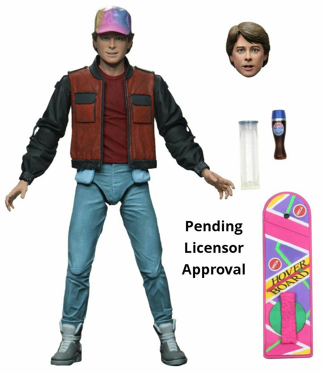"""Back to the Future: Part II - Marty McFly Ultimate 7"""" Action Figure"""