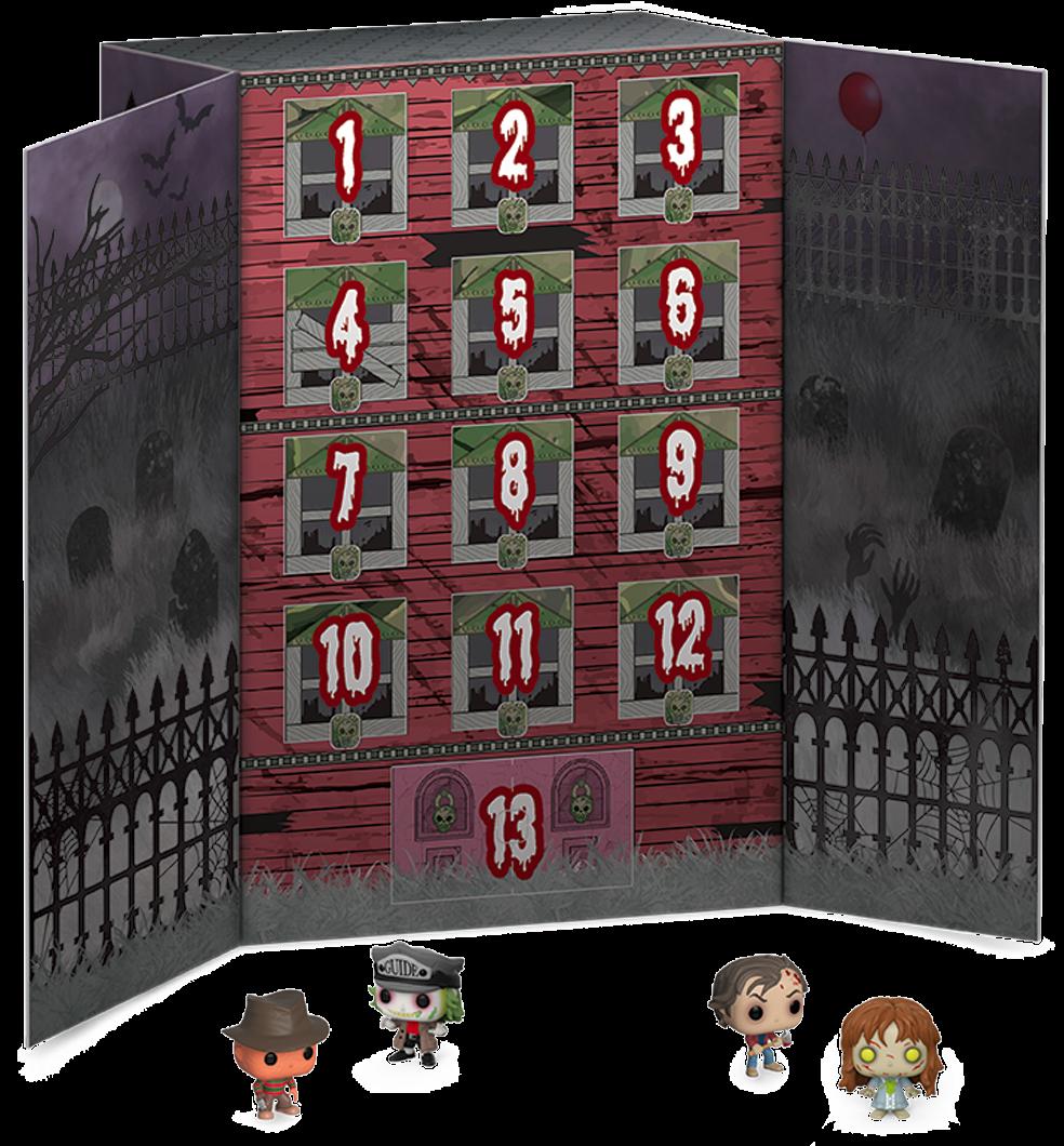 Horror - 13-Day Spooky Pocket Pop! Vinyl Halloween Countdown Calendar