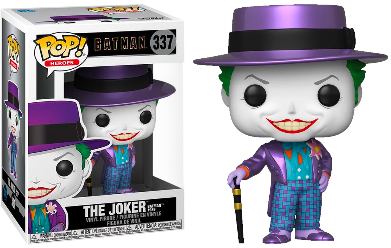 Batman (1989) - The Joker Metallic Pop! Vinyl Figure