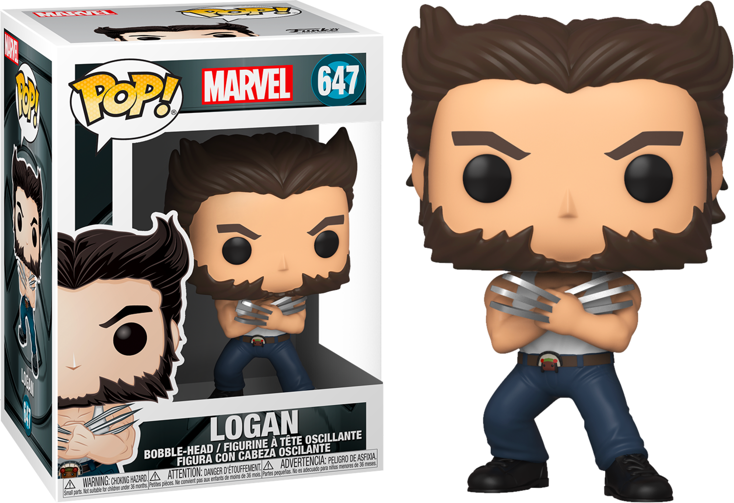 X-Men (2000) - Wolverine with Tank Top 20th Anniversary Pop! Vinyl Figure