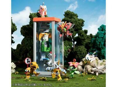 Pre-Order: Digimon Adventure DigiColle! Mix Box of 8 Figures (With Bonus Item)