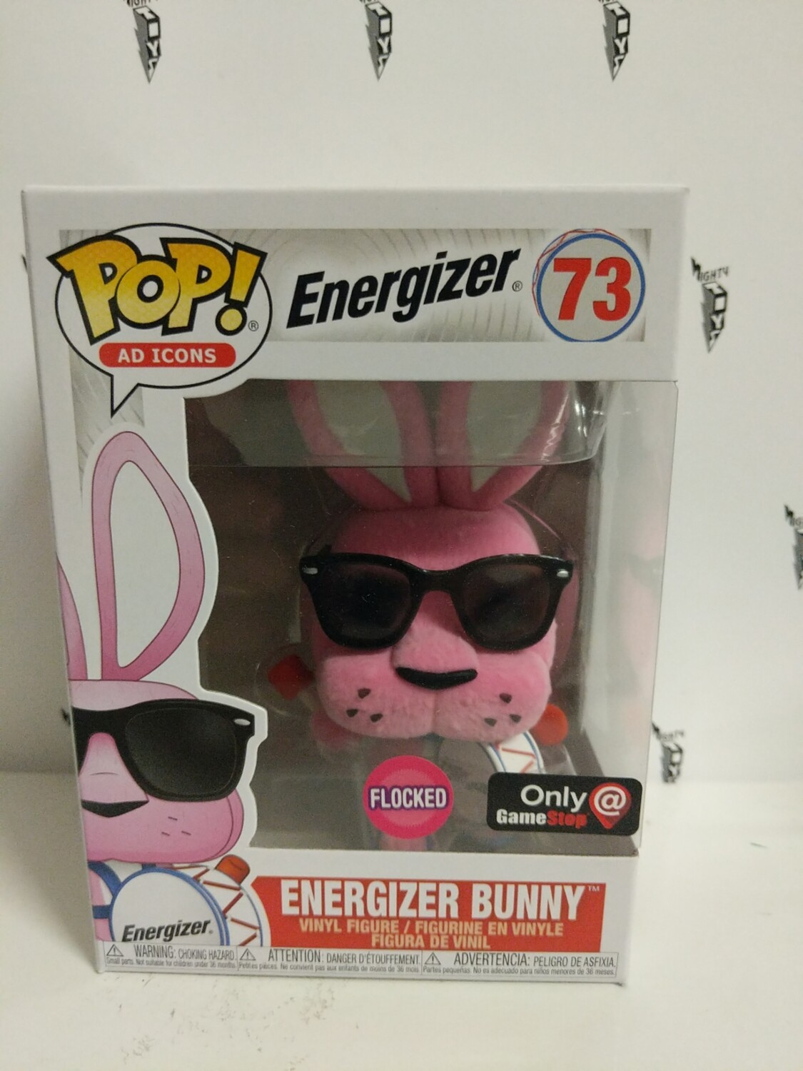 Pop! AD Icons: Flocked Energizer Bunny (Exclusive)