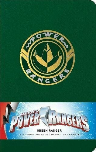 Power Rangers: Hardcover Ruled Journal Hardcover Note Book