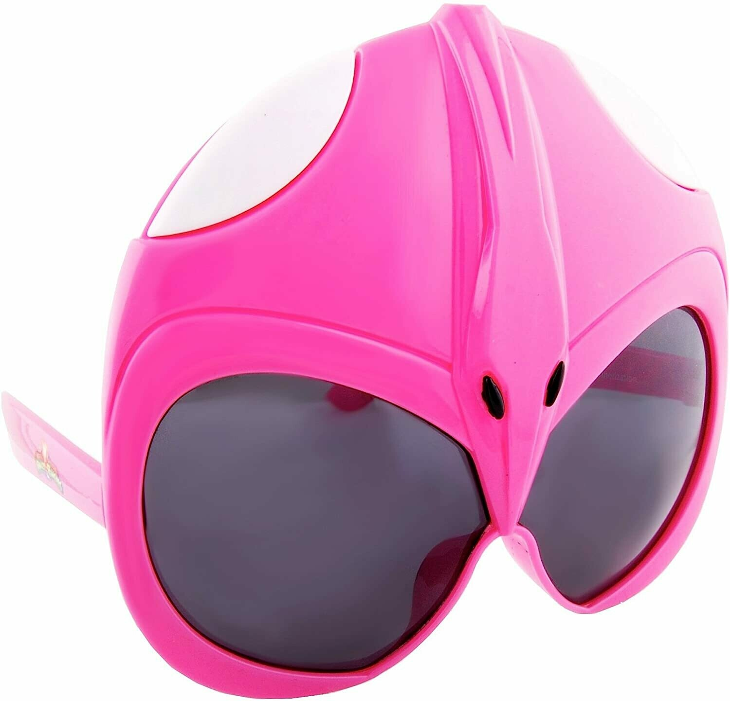 Sunstaches Mighty Morphin' Power Rangers Pink Power Ranger Sunglasses, Party Favors, UV400