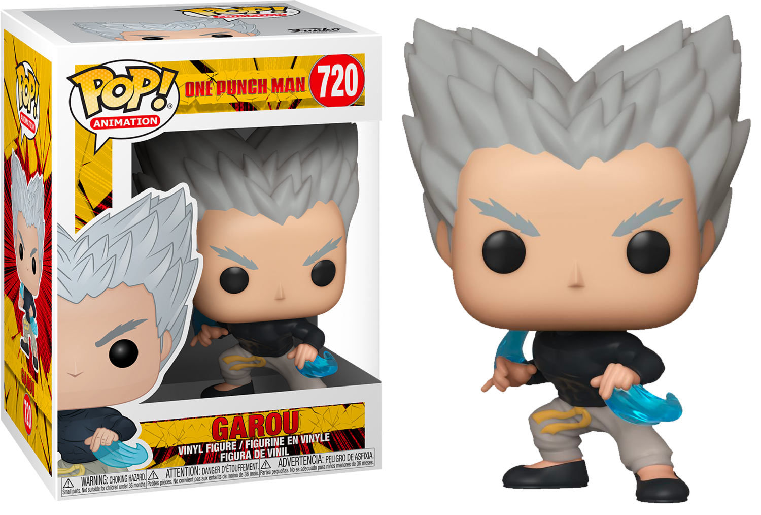 One Punch Man - Garou with Flowing Water Pop! Vinyl Figure