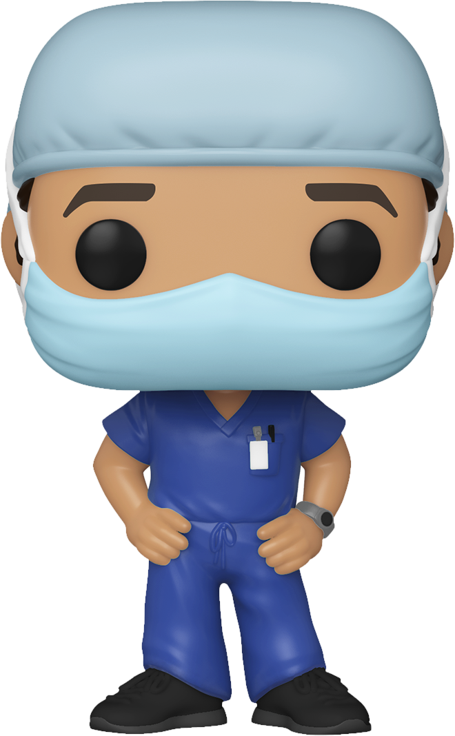 Front Line Heroes - Male Hospital Worker Pop! Vinyl Figure