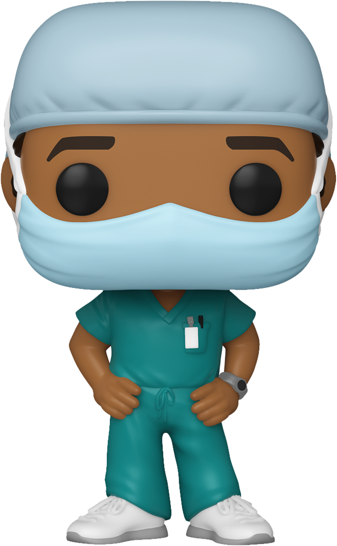 Front Line Heroes - Male Hospital Worker #2 Pop! Vinyl Figure