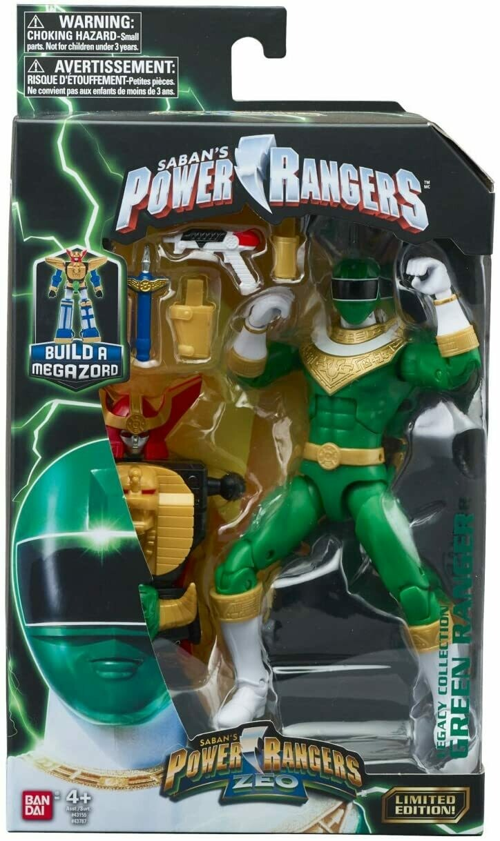 Legacy power Rangers Zeo: green Ranger Zeo baf