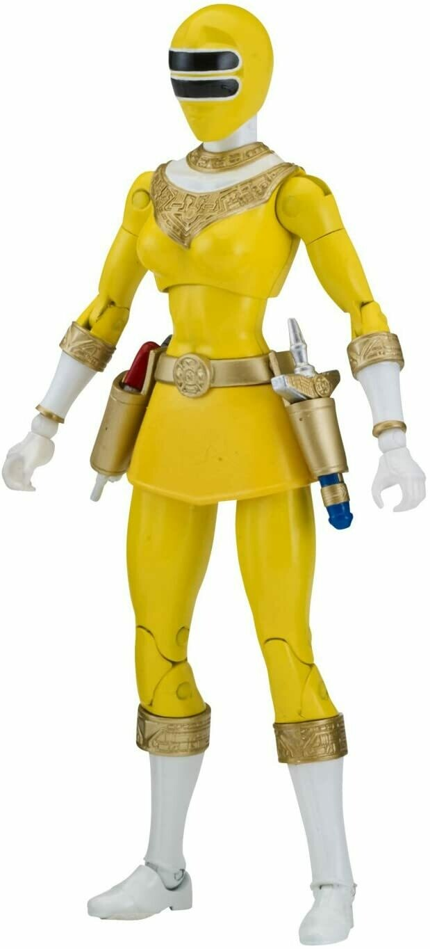 "Power Ranger 6.5"" Legacy Action Figure, Zeo Yellow"
