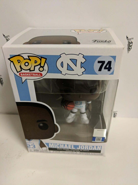 Basketball- UNC Michael Jordan (Away Jersey) Pop! Vinyl (damaged)- 1