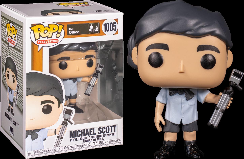 The Office - Michael Scott as Survivor Man Pop! Vinyl Figure