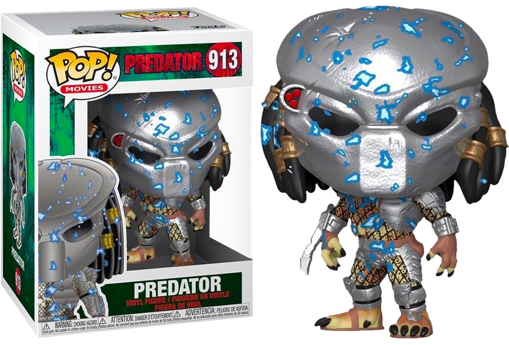 Predator - Predator with Electric Blue Armour Pop! Vinyl Figure