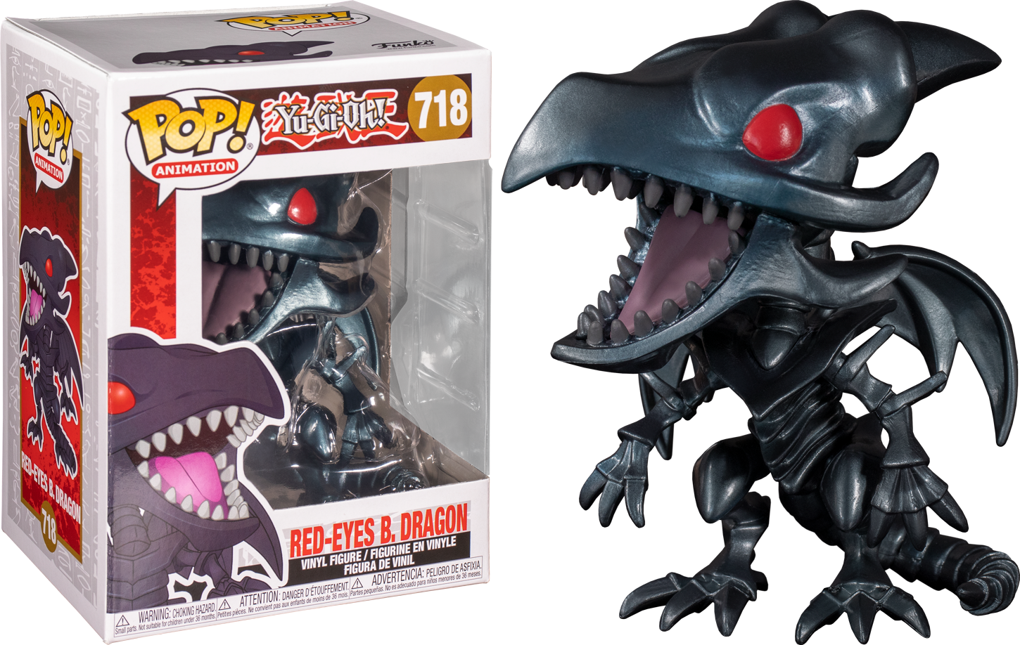 Yu-Gi-Oh! - Red Eyes Black Dragon Pop! Vinyl Figure