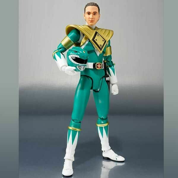 Bandai: Mighty Morphin Power Rangers S.H.Figuarts Green Ranger Event Exclusive