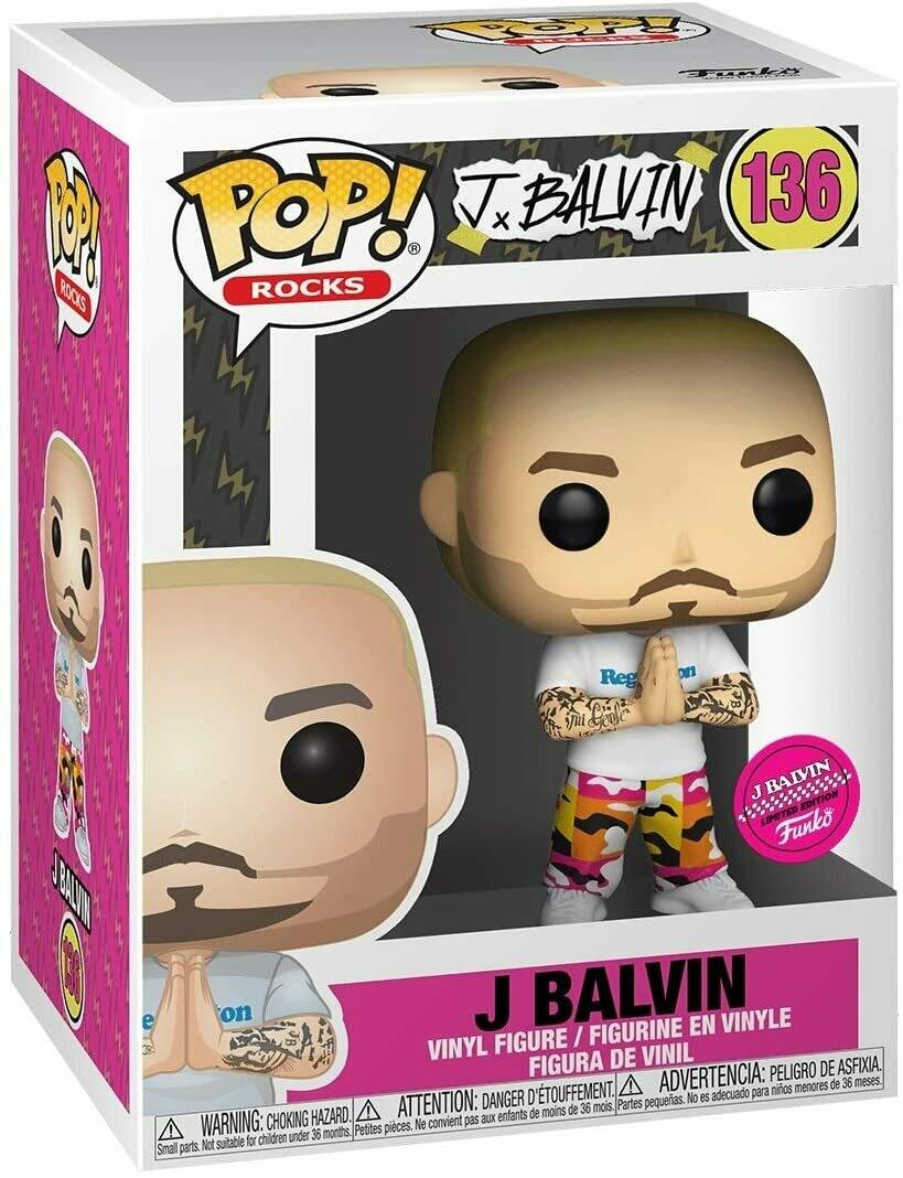 J Balvin - J Balvin Funko Limited Edition Stickered Exclusive Pop! Vinyl