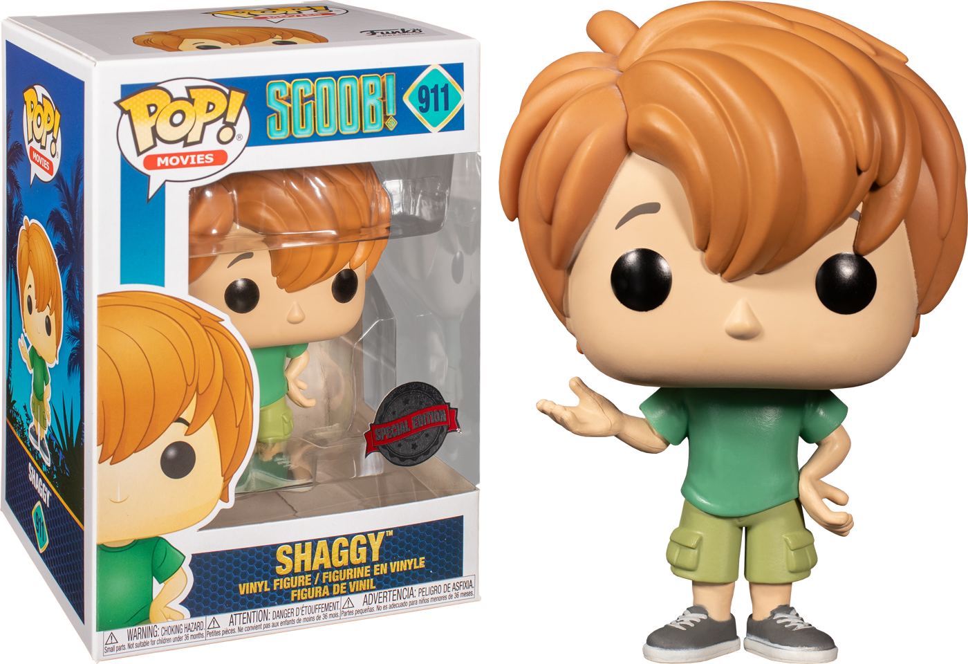 Scoob! (2020) - Young Shaggy Pop! Vinyl Figure (NFR)