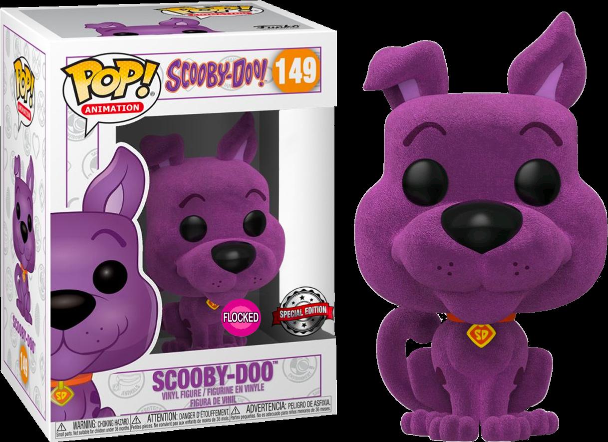 Scooby-Doo - Scooby-Doo Purple Flocked Pop! Vinyl Figure (NFR)