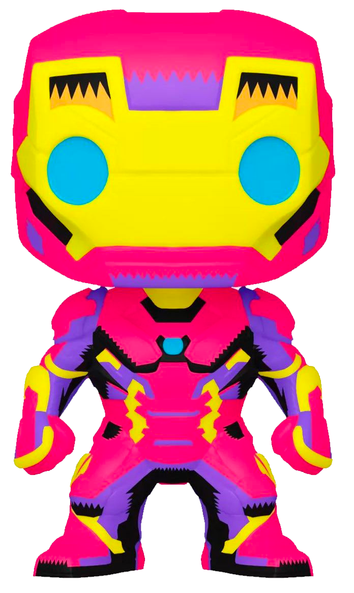 Pre-Order: Marvel: Black Light - Iron Man Pop! Vinyl Figure
