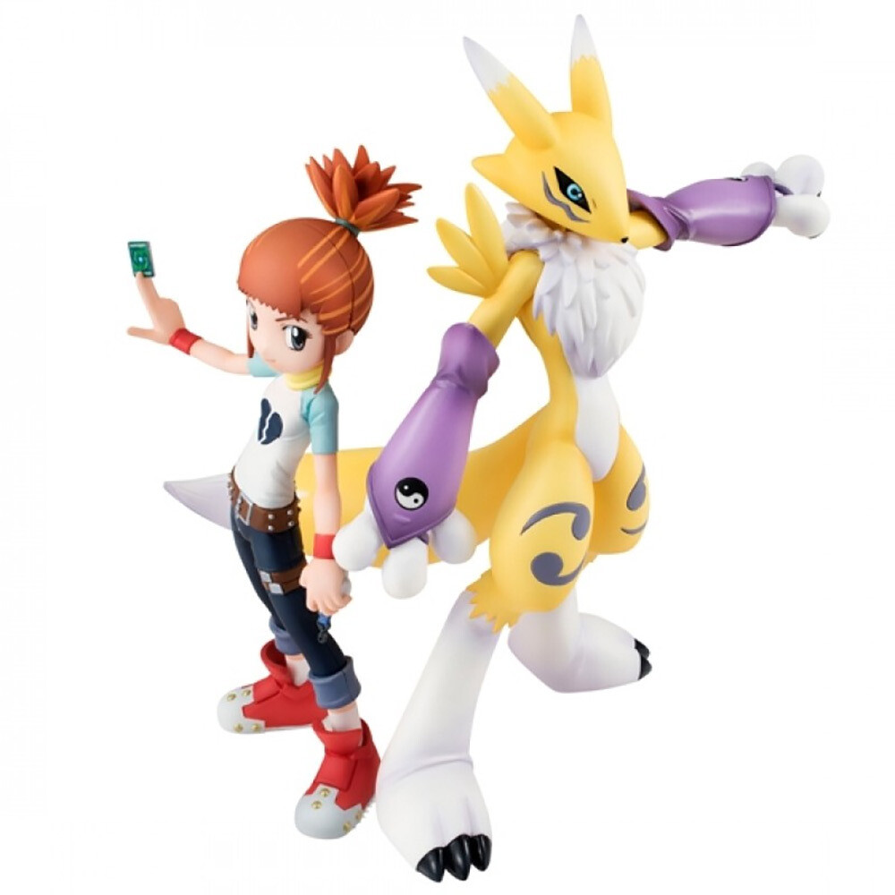 Order: DIGIMON - GEM TAMERS RENAMON & MAKINO RUKI FIGURE SET