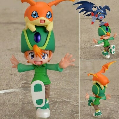 Order: DIGIMON - G.E.M. TAKERU TAKAISHI & PATAMON FIGURE 2 PACK