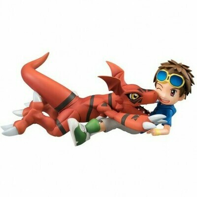 Order: DIGIMON - GUILMON AND MATSUDA TAKATO GEM SERIES FIGURE SET