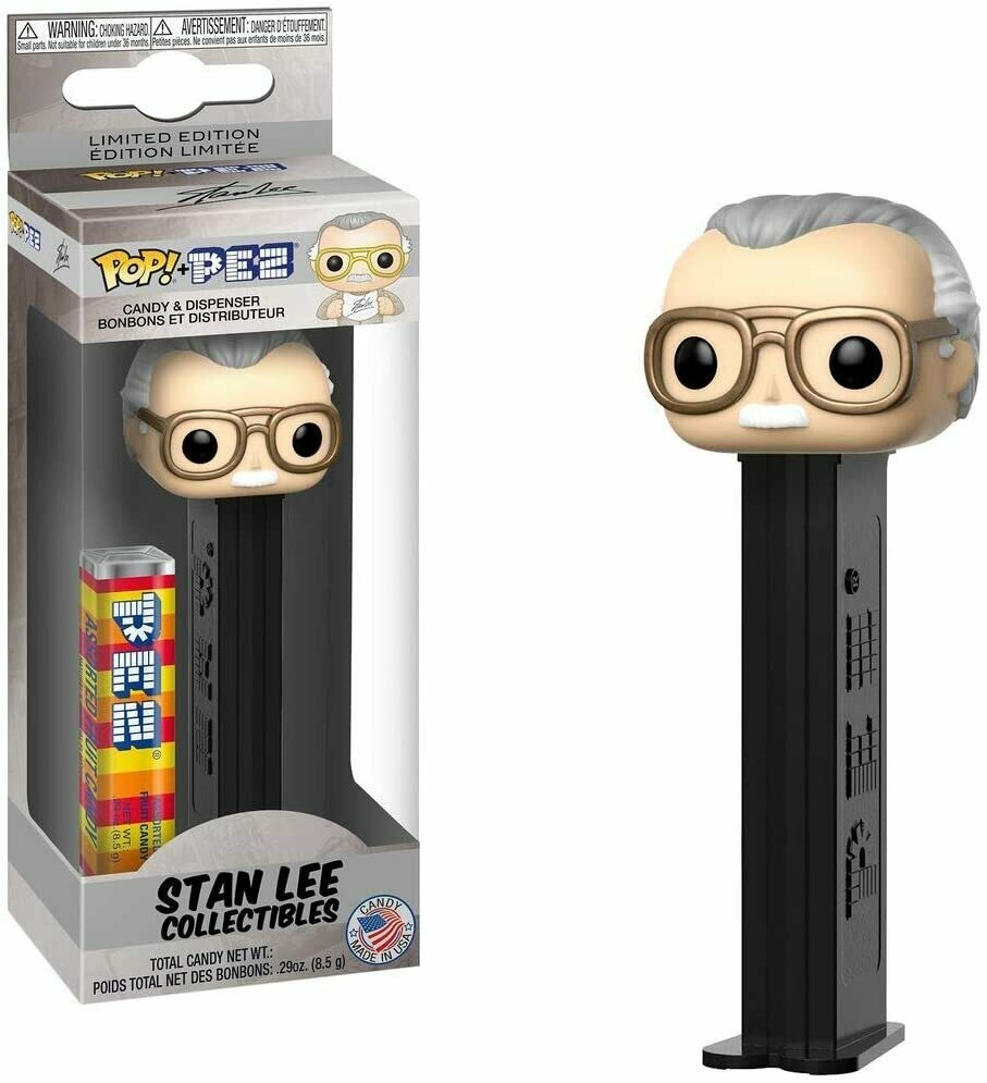 Funko Pez Candy Dispenser Stan Lee Collectibles