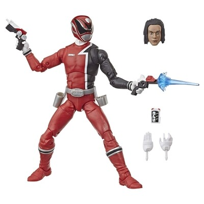 "Hasbro ​Saban's Power Rangers - S. P. D. Red Ranger Lightning Collection 6"" Action Figure"
